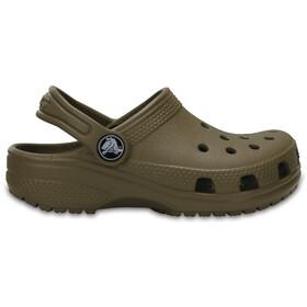 Crocs Classic Clogs Kids Khaki